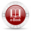 Book valentines day icon — Stock Photo #38423027