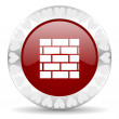 Stock Photo: Firewall valentines day icon