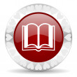 Stock Photo: Book valentines day icon