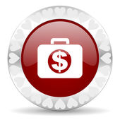 Financial valentines day icon — Stockfoto