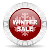 Winter sale valentines day icon — Fotografia Stock