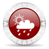 дождь валентина день икона — Стоковое фото