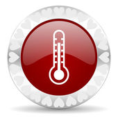 Thermometer valentines day icon — Foto Stock