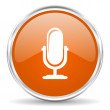 Microphone icon — Stock Photo #38735099
