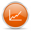 Chart icon — Stock Photo #38736319