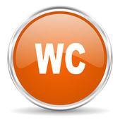 Wc-symbol — Stockfoto