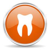 Tooth icon — Stock Photo