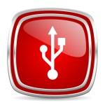 Usb icon — Stock Photo #39386151