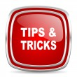 Tips tricks icon — Stock Photo #39386387