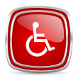 Wheelchair icon — Stock Photo #39386935