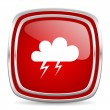 Storm icon — Stock Photo #39387729