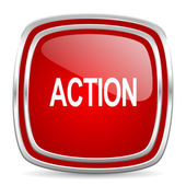 Action icon — Foto Stock