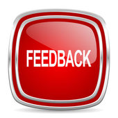 Feedback icon — Stock Photo