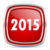 New year 2015 icon — ストック写真