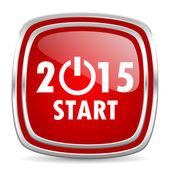 New year 2015 icon — Stockfoto