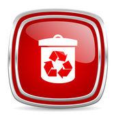 リサイクル アイコン — ストック写真