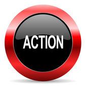 Action icon — Stockfoto