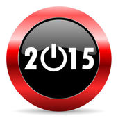New year 2015 icon — Foto de Stock