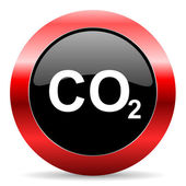 Carbon dioxide icon — Stock Photo