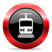 Train icon — Stock Photo