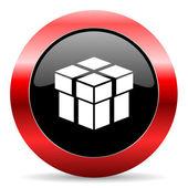 Box ikon — Stockfoto