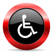 Wheelchair icon — Stock Photo #39892363