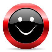 Smile icon — Stock Photo