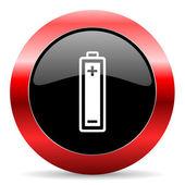 Battery icon — Стоковое фото