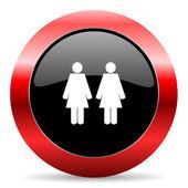 Icona di coppia — Foto Stock