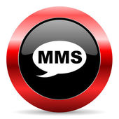 Mms icon — Foto de Stock