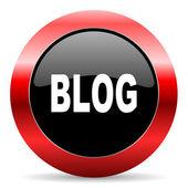 Blog icon — Stock Photo