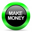 Make money icon — Stock Photo #39921549