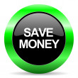 Save money icon — Stock Photo #39921565