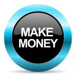 Make money icon — Stock Photo #39925105