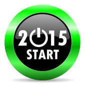 New year 2015 icon — Foto Stock