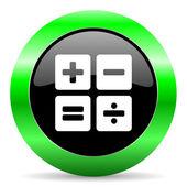 Calculator icon — Stock Photo