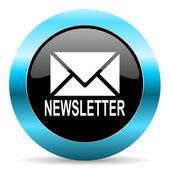 Icône de la lettre d'information — Photo