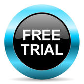 Free trial icon — Stock Photo
