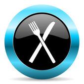Restaurant icon — Stock Photo