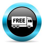 бесплатная доставка — Стоковое фото