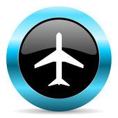 символ самолета — Стоковое фото