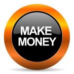 Make money icon — Stock Photo #39977937
