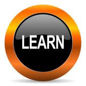 Learn icon — Stock Photo