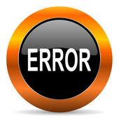 Icono de error — Foto de Stock