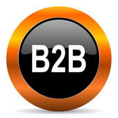 B2b icon — Stock Photo