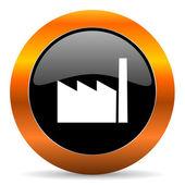 Factory icon — Stock Photo