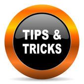 Tips tricks icon — Stock Photo