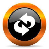 Icona di rotazione — Foto Stock