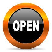 Open icon — Stock Photo