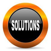 Solutions icon — Stock Photo